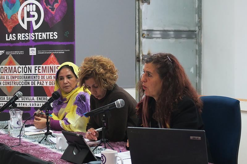 """Conferencia Inaugural """"Mujeres y construcción de paz. Las Resistentes saharauis"""""""