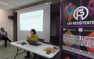 Modulo I. Mujeres en proceso de resistencia. Sesión 1: Las mujeres como constructoras de paz. Las otras mesas.