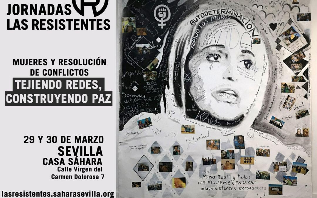 Jornadas Internacionales Las Resistentes. 29 y 30 de marzo