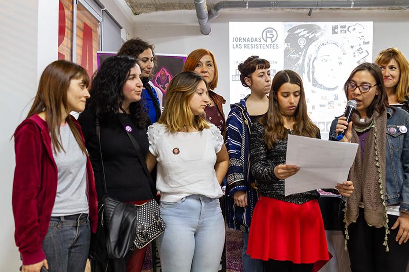 Manifiesto Las Resistentes en apoyo a las mujeres saharauis